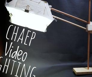 Cheap Lighting for Video