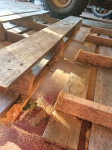 Cutting Your Pallet