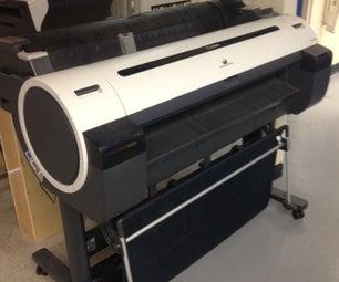 Using the Large Format Printer at Techshop Menlo Park