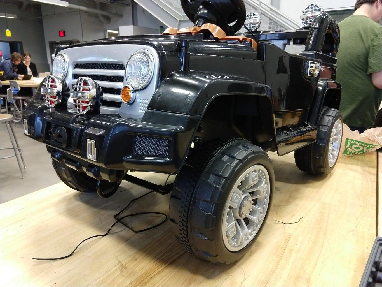 GoBabyGo Kids Jeep Modification (Gabriel's Car)