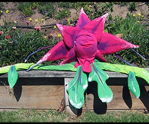 Building Audrey II Flowers and Buds