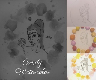 Easy Candy Watercolor