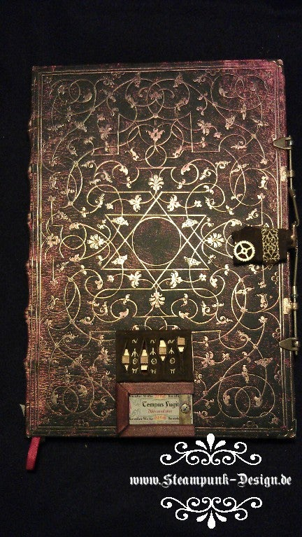 Steampunk Picaxe Protected Sketchbook