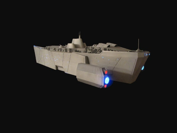 How to Build Your Own Model Spaceship