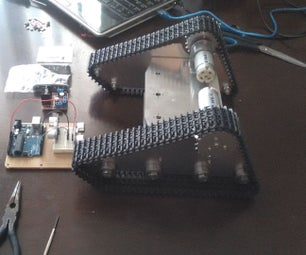Robo TK-100 Tank Chasis Assembly