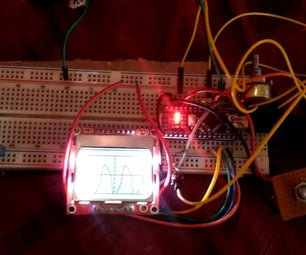Arduino Oscilloscope With Nokia 5110 LCD