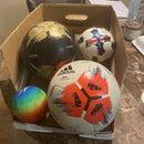 Soccer Ball Storage Ramp