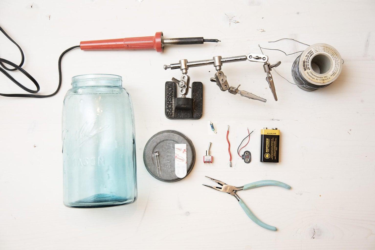 Firefly Mason Jar