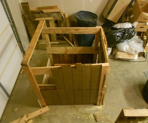 The Strangest Wooden Compost Box Ever.
