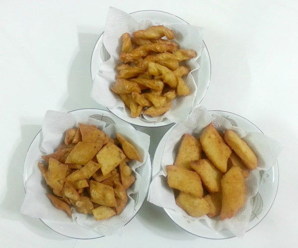 3 Easy Crunchy Party Snacks