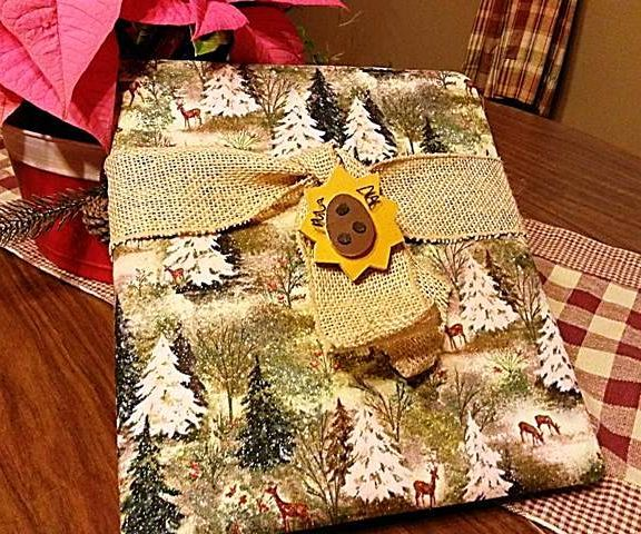 Covered Christmas Advent Book (no sewing)