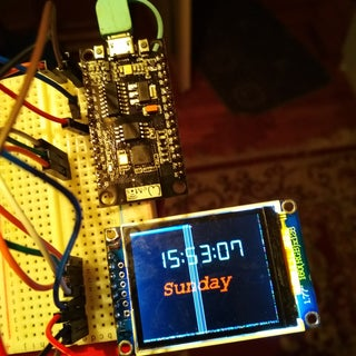 ESP8266 Network Clock Without Any RTC | Nodemcu NTP Clock No RTC | INTERNET CLOCK PROJECT