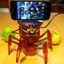 Hacking the Hexbug Spider XL to Add Computer Vision Using an Android Smartphone