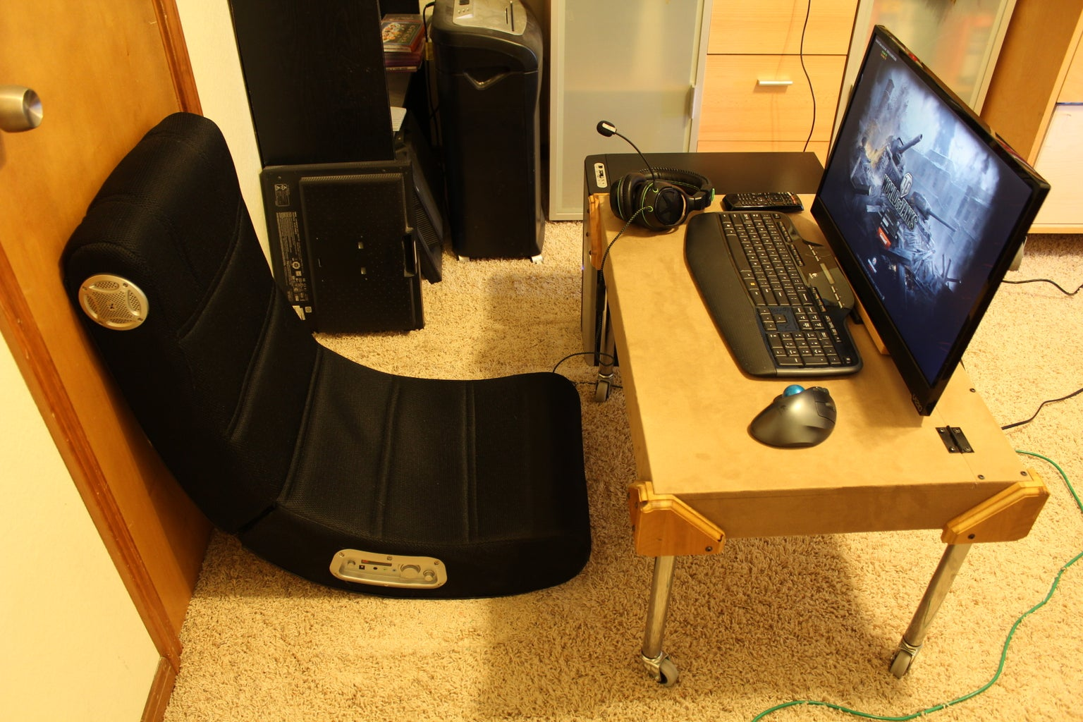 Small Gaming PC Desk