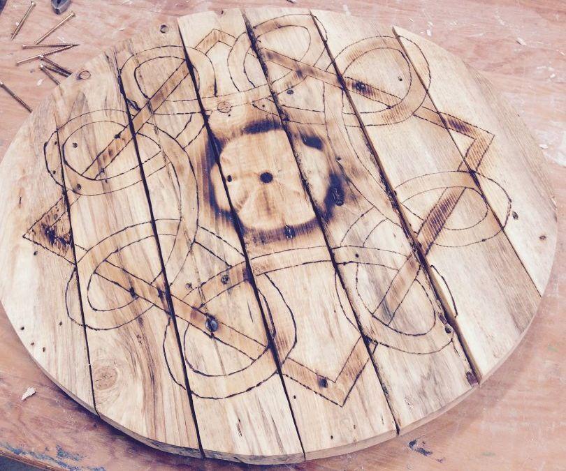 Celtic Table Tray