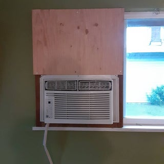 Mounting A Standard Air Conditioner In A Sliding Window From The Inside Without A Bracket 6 Steps With Pictures Instructables
