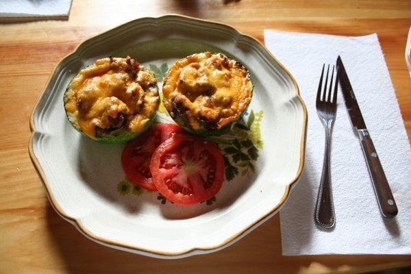 How to Make Zucchini Bowls.