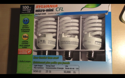 Get the Adapters and CFL Bulbs