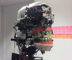 ALDOUS (EMS-30-02) Robo-Animatronic (C.Strathearn MRes Animatronics UoH 'ADA' 2016)