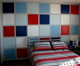 Multicolor Squares Wall