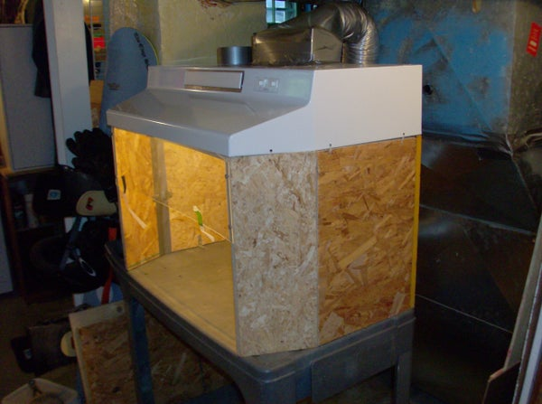Building a Small Fume Hood for Stinky Projects