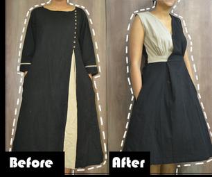 Cotton Dress - Cloth Refashion!