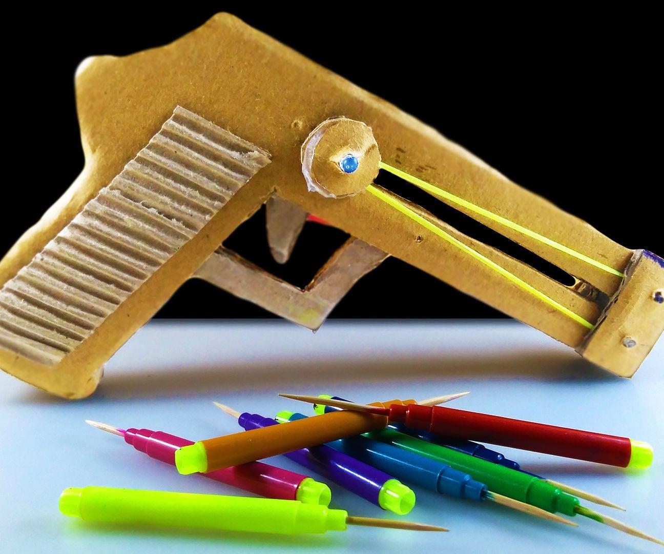 diy pistol toy gun  19 steps  instructables