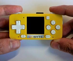 MicroByte DIY Retro Console