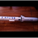 Flying Model Rocket From a 3D Scale Model