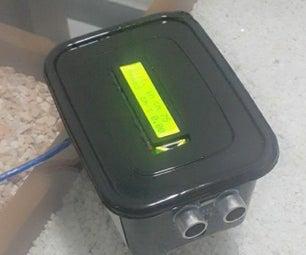 Speed Meter Using HC-SR04 Ultrasonic Sensor