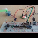 Driving a Stepper Motor Without a Microcontroller.