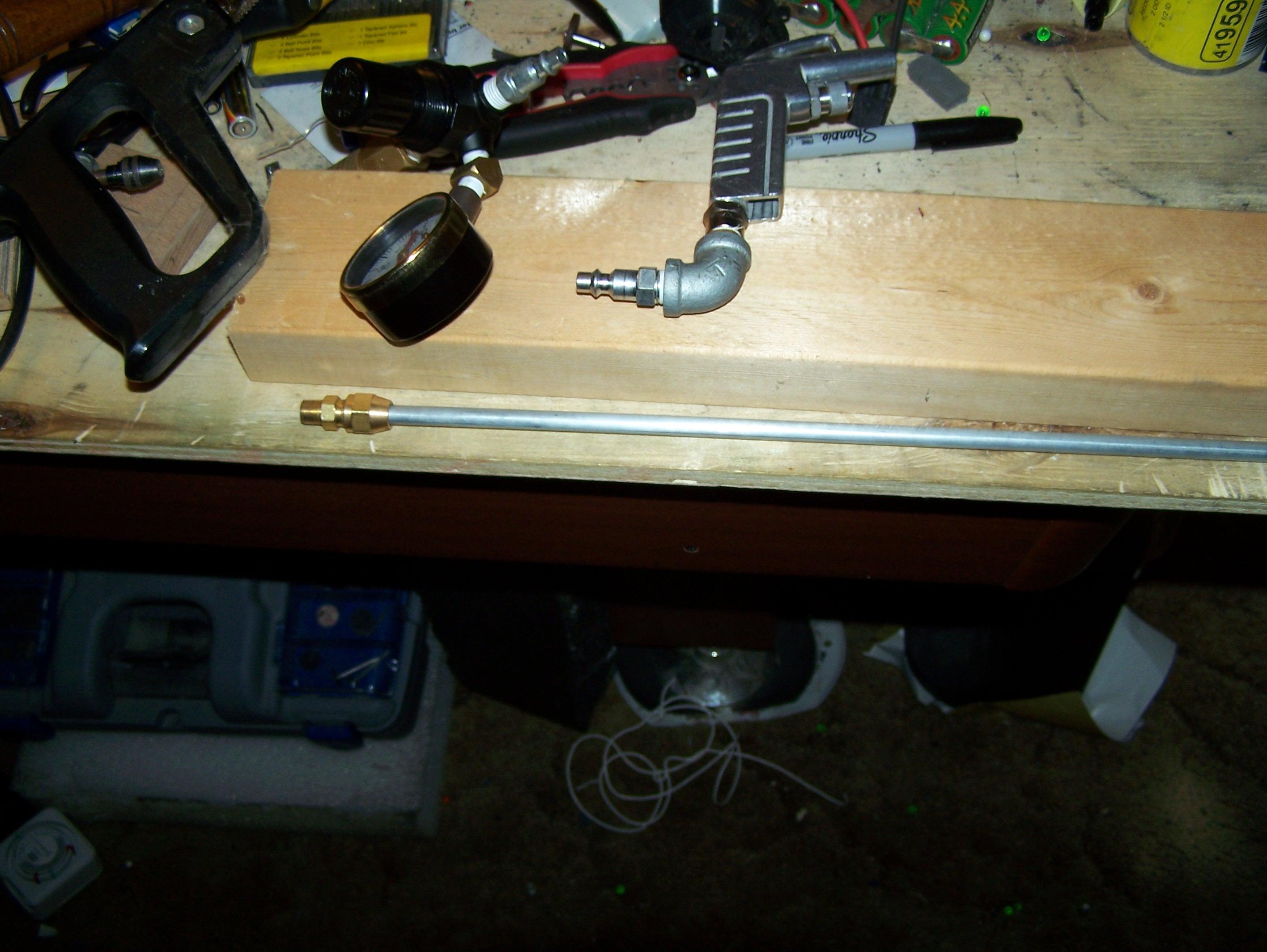 Handmade Airsoft Rifle