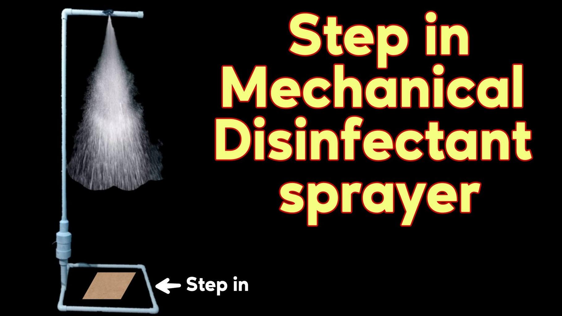 Step in Disinfectant Sprayer