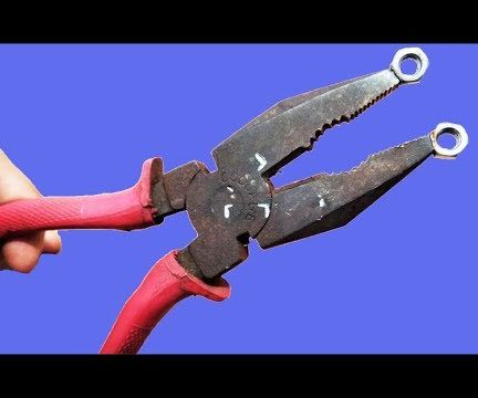 Amazing Idea for Rusted Pliers DIY