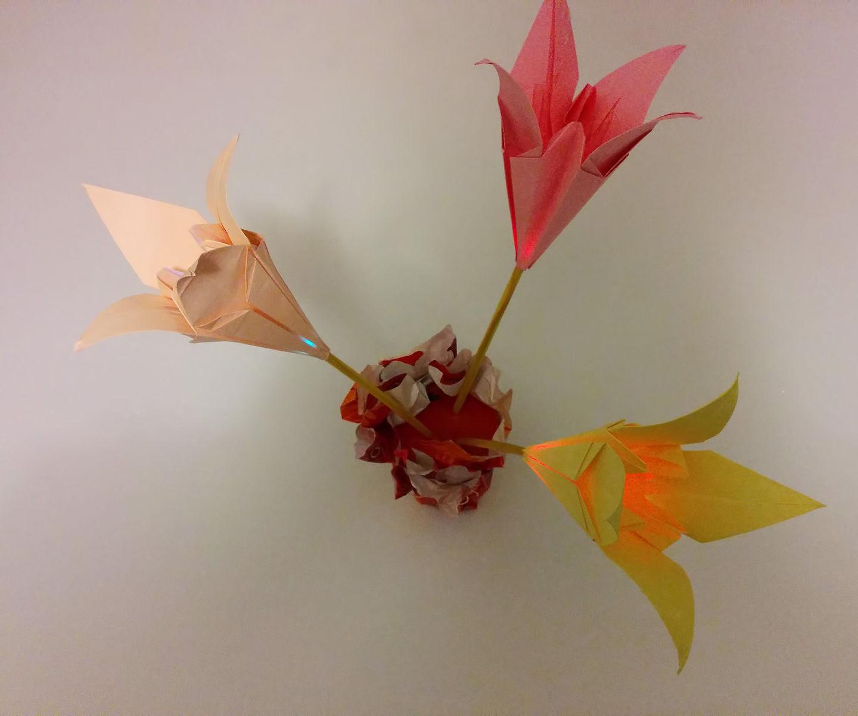 Illuminated Lilys Flowers !
