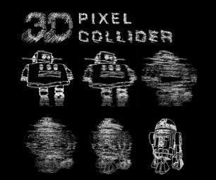 3D Pixel Collider (3D Print)