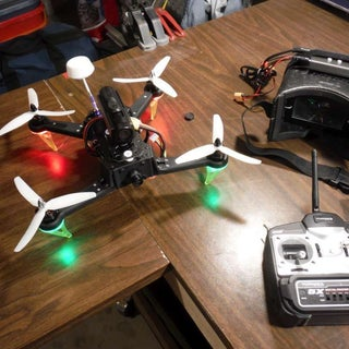 250 Quadcopter, Full Build