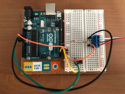 Connect to the Arduino
