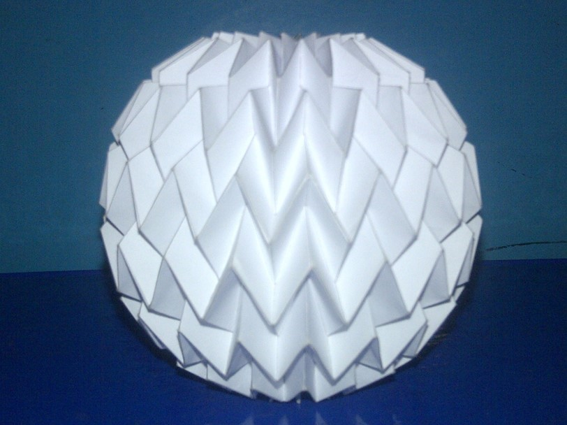 Tutorial 3 - Folding Ball With Pattern Miura