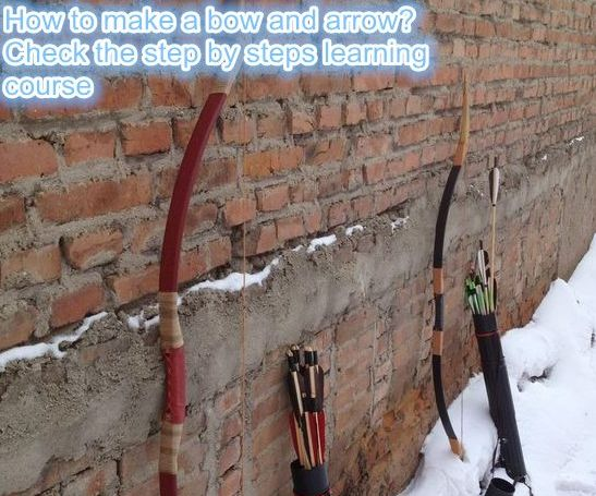 How to make a bow and arrow--10 Steps Only