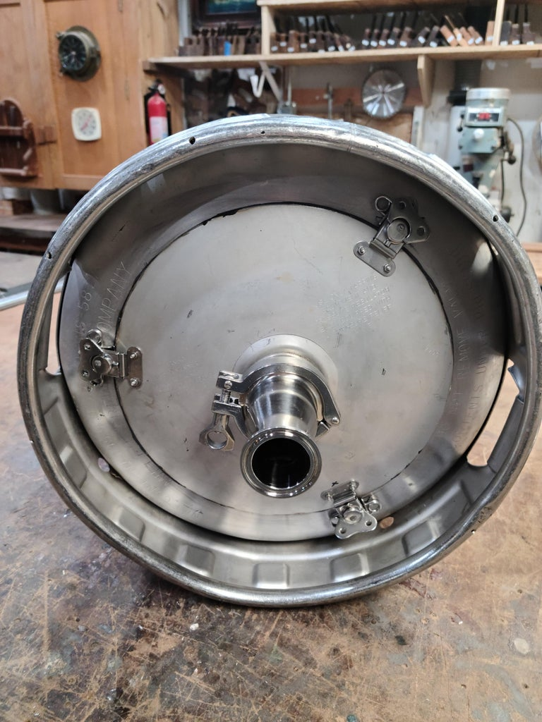 No Weld, Keg Still With Removable Top