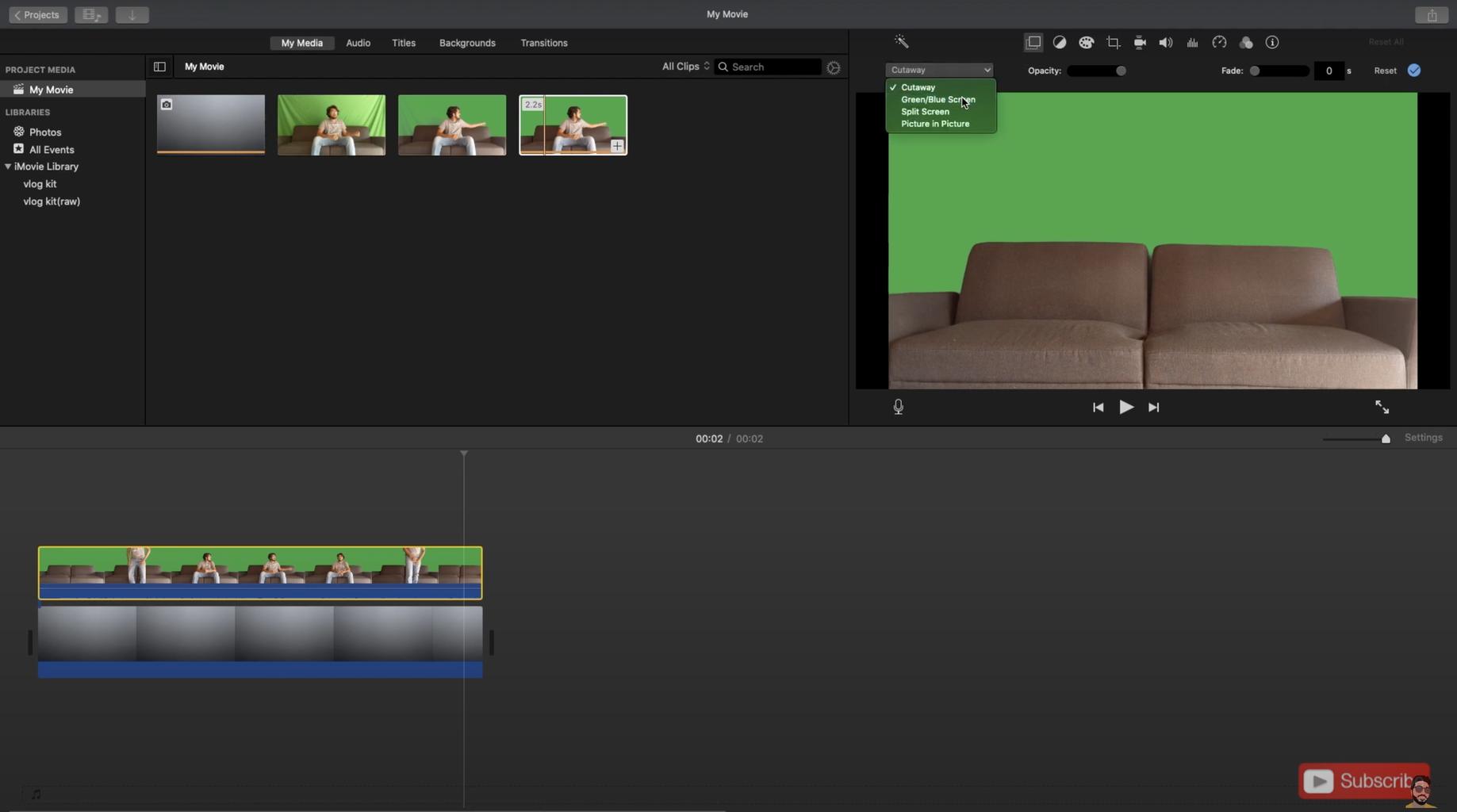 Export Your Final Video