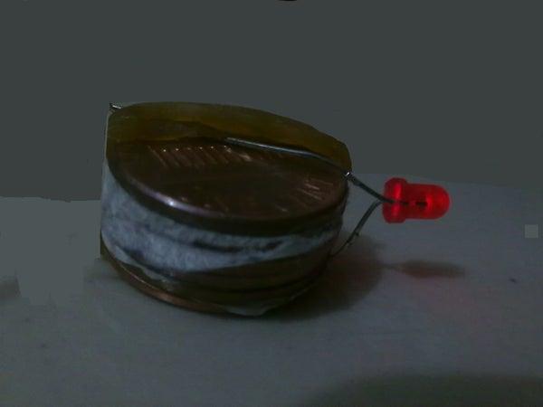 Build a Coin Battery