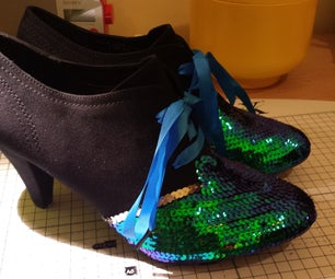 Sequin Shoe-Shoes