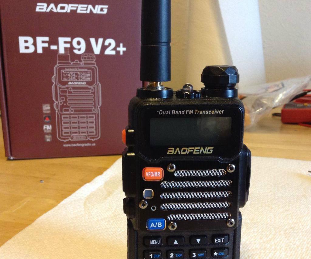 Baofeng FB-F9 V2+ Ham Radio Modification