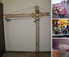 K'nex Knex Construction Vehicles With Instructions