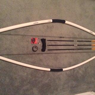 DIY PVC Bow 75+ Lb Draw!