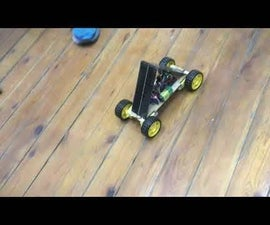 RC Robot Car With Solar Panels