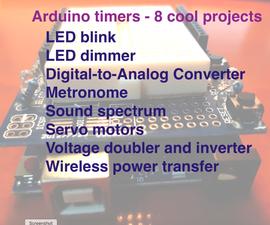 Arduino定时器:8个项目