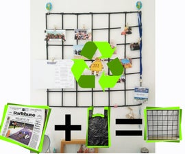 From Paper and Plastic to Wall Grid